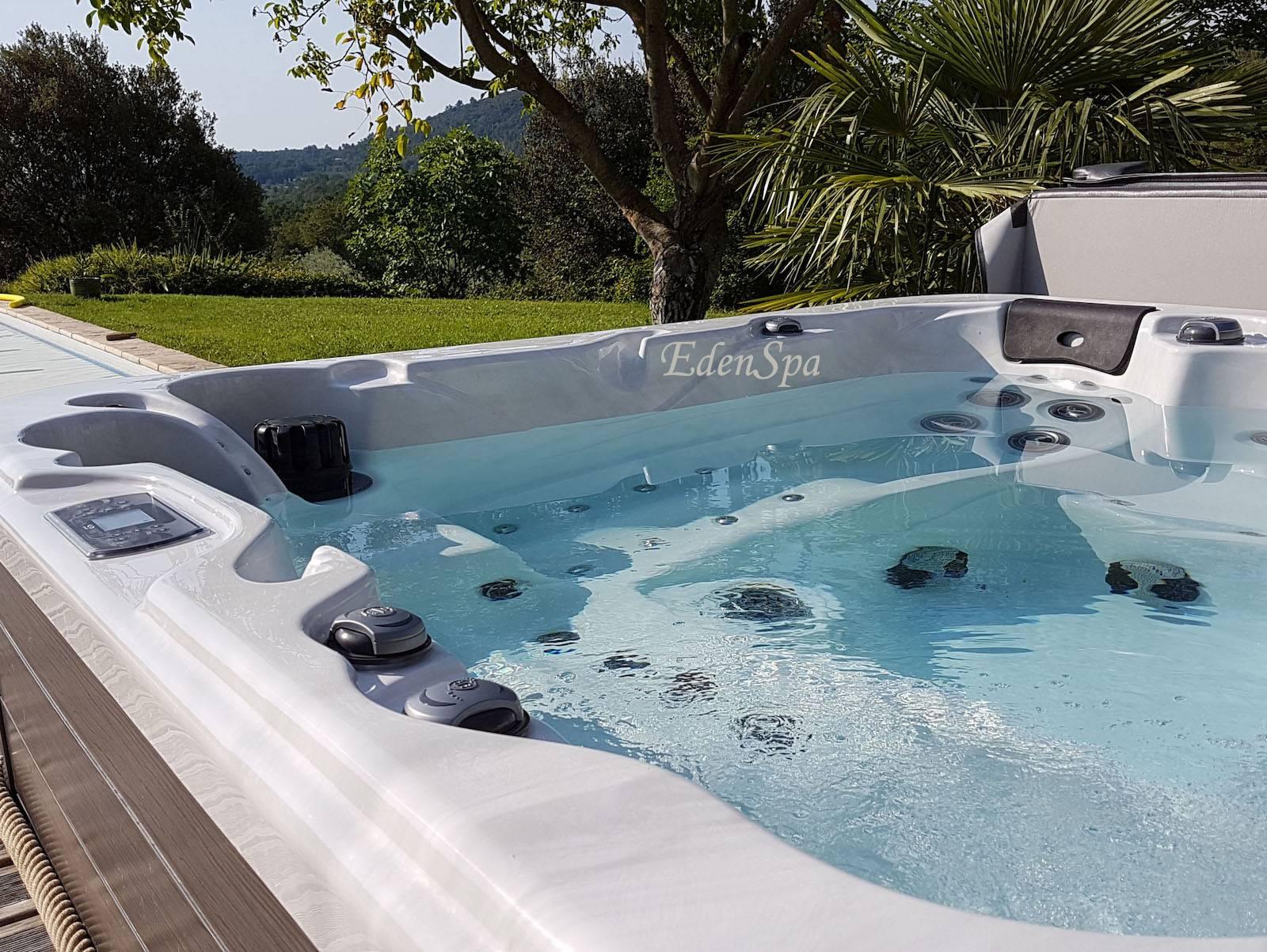 spa 5 places 65 jets o565 beaumont de pertuis edenspa. Black Bedroom Furniture Sets. Home Design Ideas