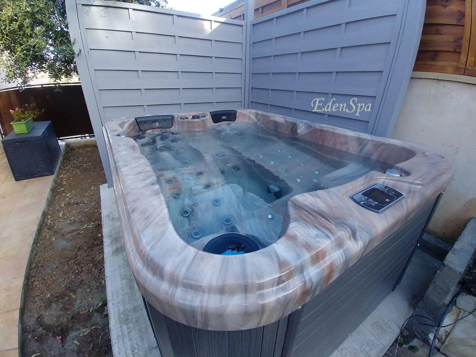 spa 3 places haut de gamme marseille mod le o364 edenspa. Black Bedroom Furniture Sets. Home Design Ideas