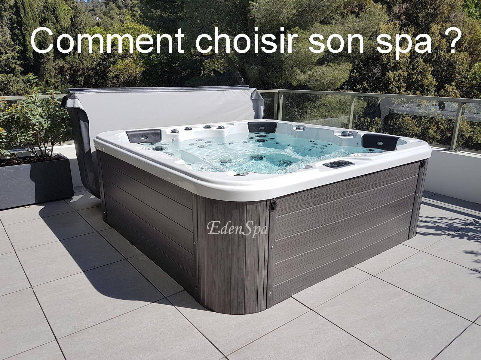 comment choisir un jacuzzi jacuzzi exterieur hiver comment choisir un spa exterieur spa de. Black Bedroom Furniture Sets. Home Design Ideas